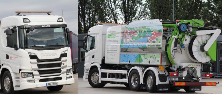 העיר פראג מפעילה משאיות ביוגז לניקוי הביוב