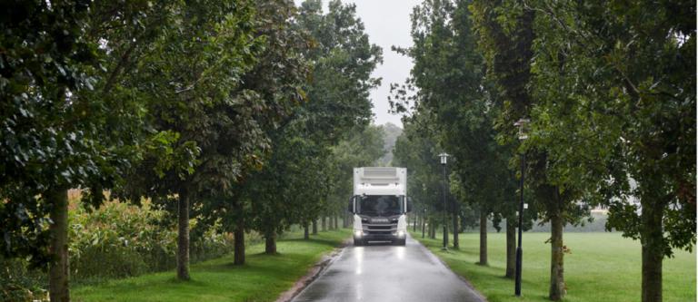 סקניה זוכה להכרה מהאיחוד האירופי כמובילה ביעילות צריכת דלק